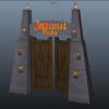 Jurassik Park Gate