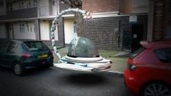 Spaceship - 3D compositing - Rendering by mentalray