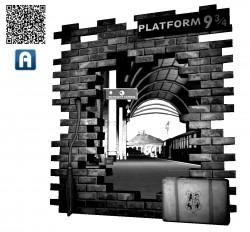 Aurasma: Platform 9 3/4