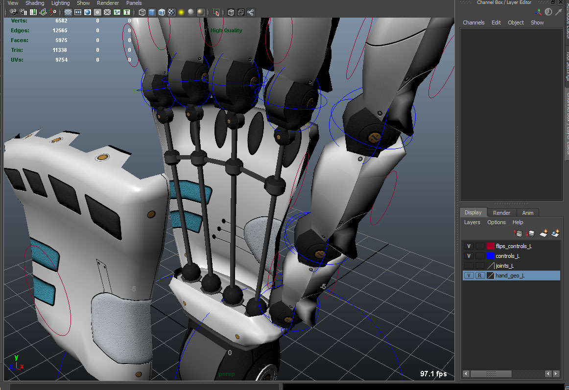 Robot hand on sale daniele olivieri d digital artist