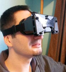 Me wearing Davyci VR
